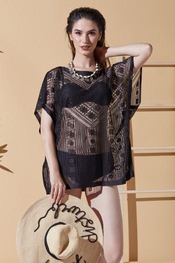 Summer Siyah Plaj Elbisesi
