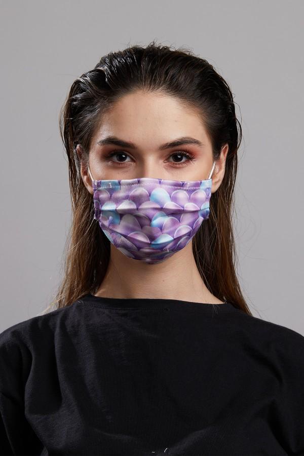 Digital Printed 2 Mask