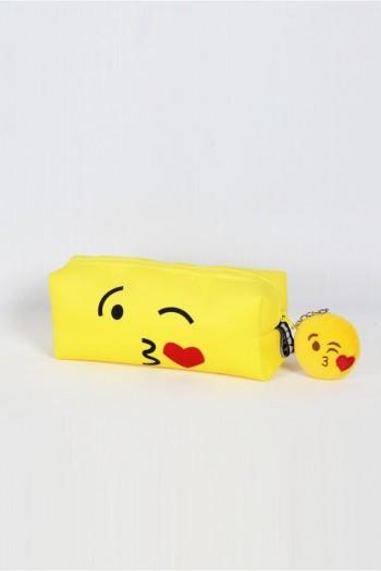 Öpücüklü Makyaj Çantası