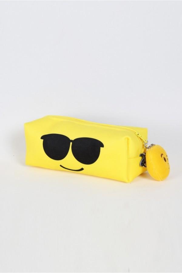 Güneş Gözlüklü Makyaj Çantası