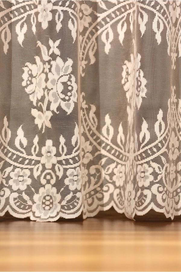 Kinitting Tulle Curtain