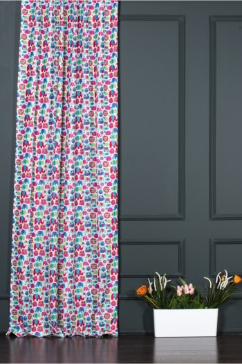 Animals  Printed Child Curtain