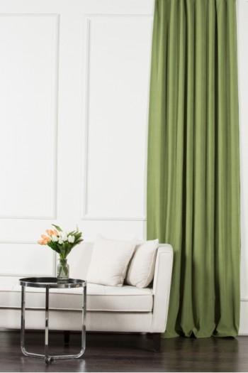 Yeşil Soft Fon Perde