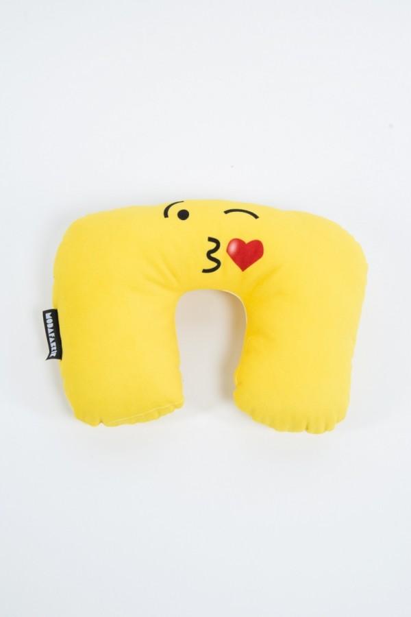 Heart Kiss Travel Pillow