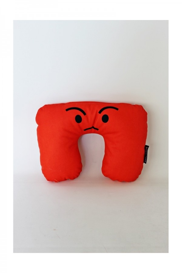 Angry Travel Pillow