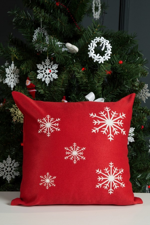Christmas Themed Decorative Pillow