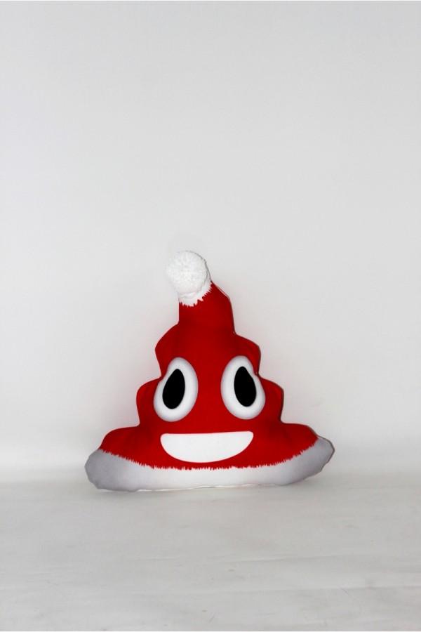 Noel Kırmızı Sevimli Yastık