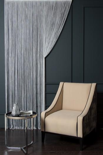 Gray Pandora String Curtain