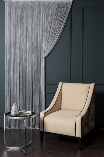Dark Gray Pandora String Curtain