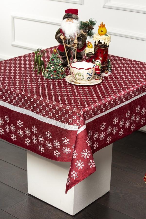 Snowflake Christmas Tablecloth