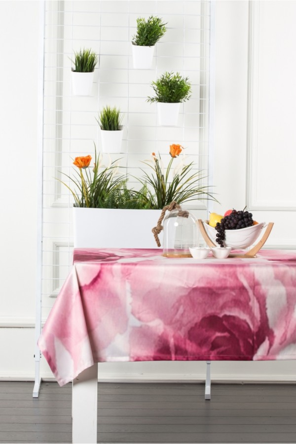Digital Printed Raschel Tablecloth