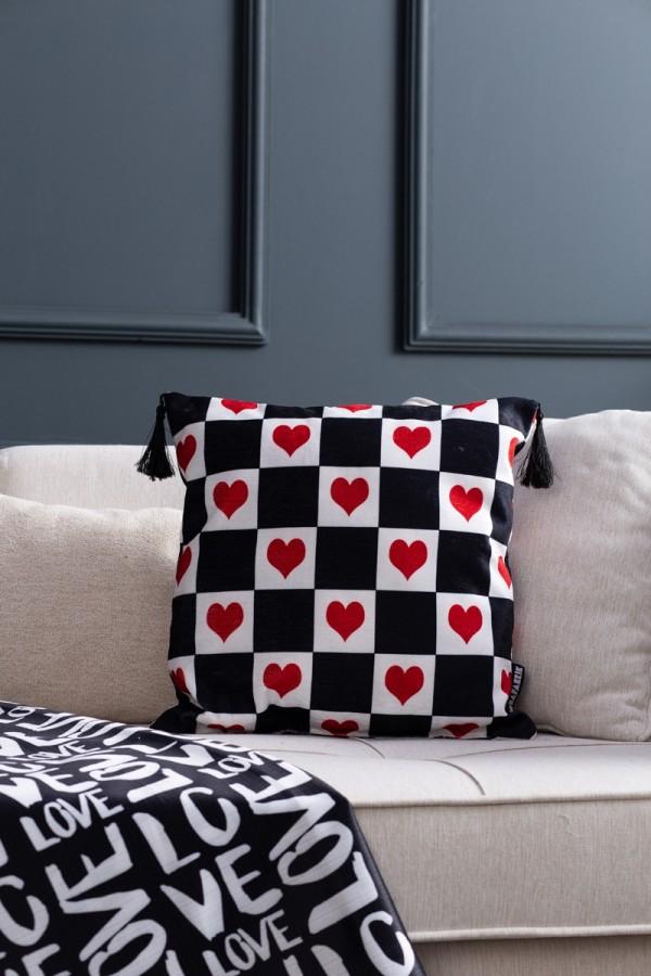 Sevgililere Özel Dekoratif Yastık