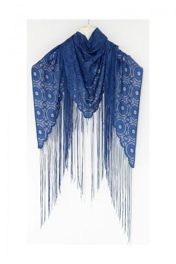Dark Blue Shawl