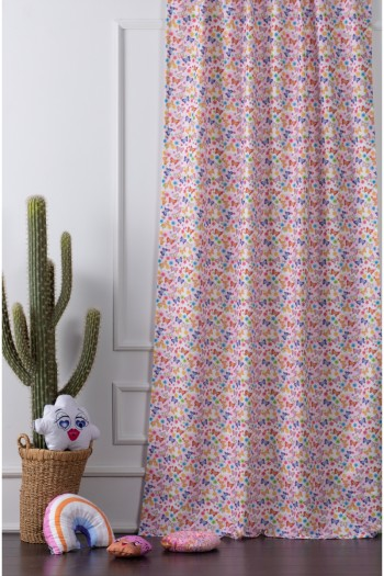 Butterfly Digital Printed Child Curtain