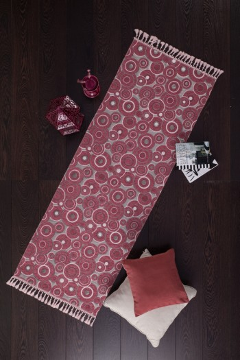 Circle Patterned Carpet