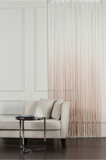 White to Beige String Curtain
