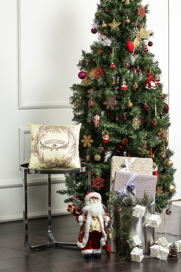 Christmas Themed Decorative Pillow