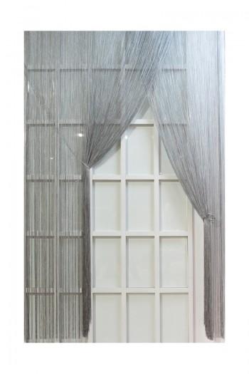 Gray String Curtain