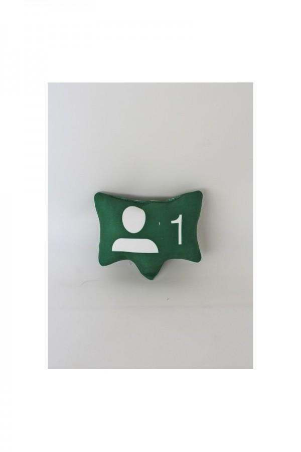 Yeşil Takip İsteği Simgesi