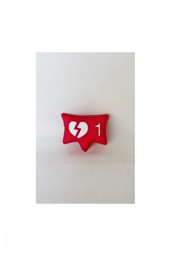 Pembe Kırık Kalp Simgesi