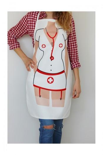 Hemşire Mutfak Önlüğü
