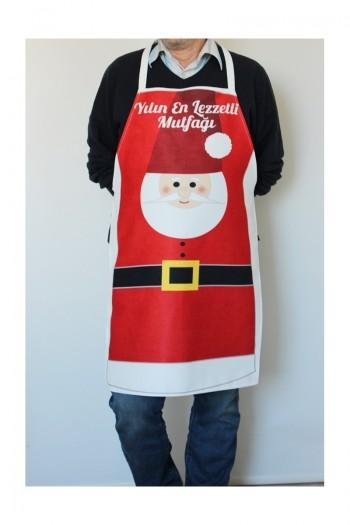 Noel Baba Mutfak Önlüğü