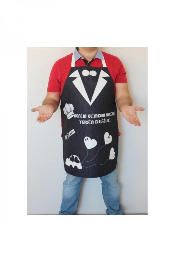 Romantik Mutfak Önlüğü