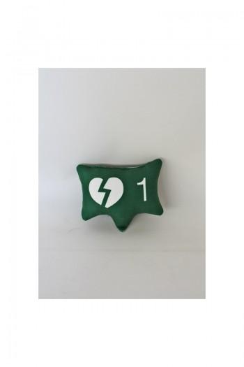 Yeşil Kırık Kalp Simgesi