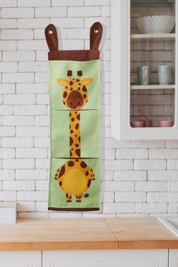 Zürafa Baskılı Organizer