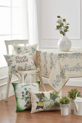 Ivy Linen Table Cloth