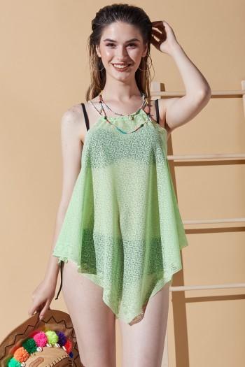 Bodrum Yeşil Plaj Elbisesi