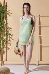 Holiday Green Beach Dress
