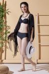 Düş Kapanı Siyah Plaj Elbisesi
