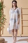 Fiora Ecru Beach Dress