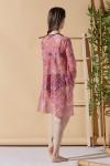 Kimono Renkli Plaj Elbisesi
