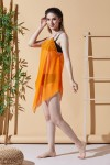 Bodrum Orange Beach Dress