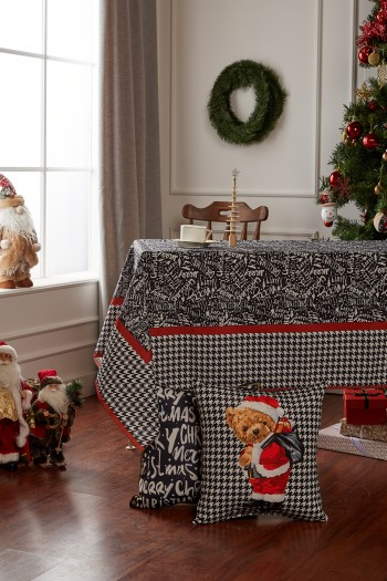 New Year's Merry Christmas Tablecloth