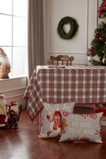 Christmas Plaid Table Cloth