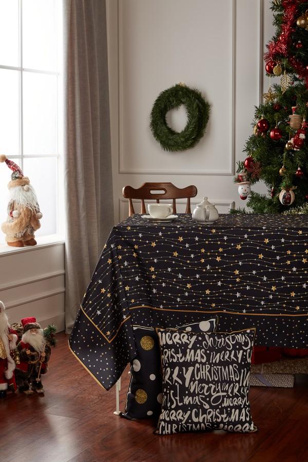 Christmas Star Table Cloth