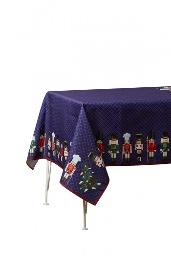 Lead Soldier Table Cloth 140x140