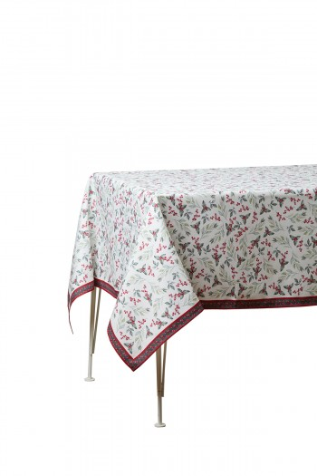 Leaf Pattern Tablecloth 140x140