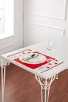 Valentine Stickman Red Placemat Set of 2