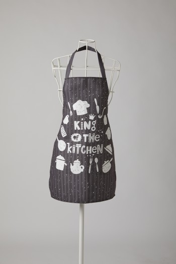 Kitchenware Pattern King Kitchen Apron