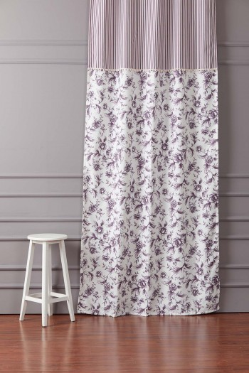 Pompom Plum Curtain