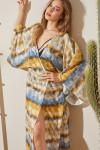 Degrade Baskılı Kimono