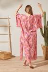 Mercan Desen Kimono