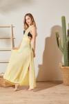 Bahama Sarı Plaj Elbisesi
