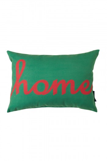Green Home Rectangular Pillow