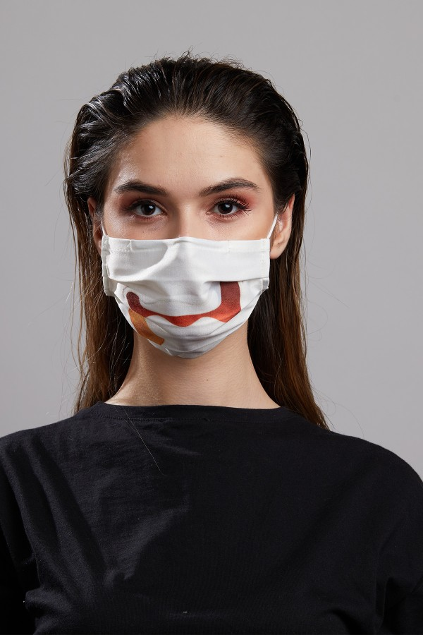 Dijital Baskılı 2'li Maske