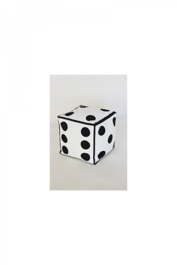 Dice Shaped Pillow